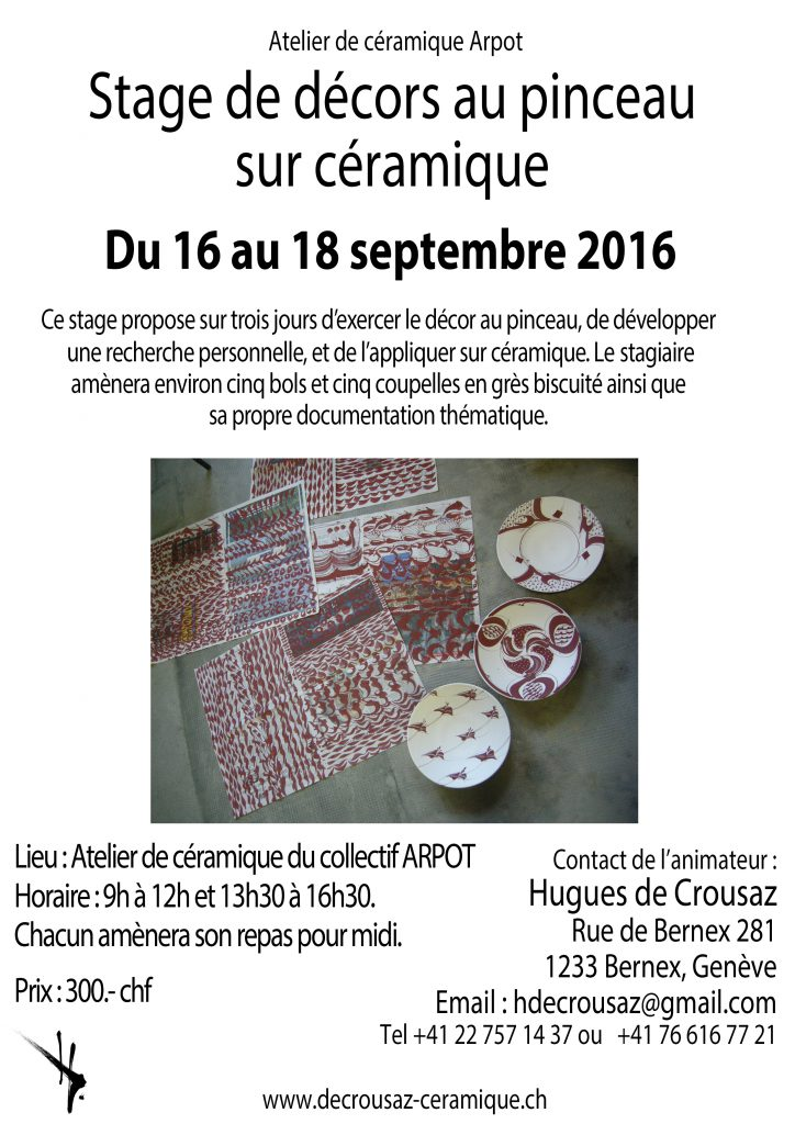 stage de decor sept 2016